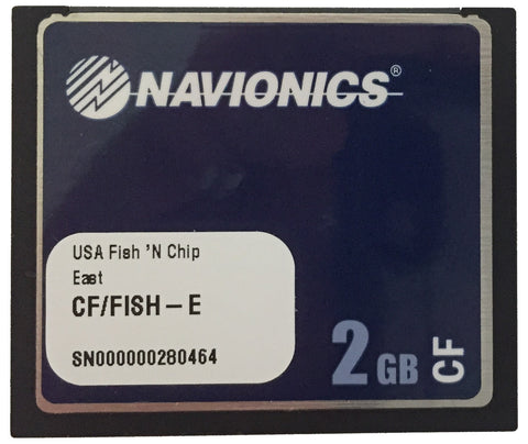 [USED] Navionics CF/Fish-E US East Coast sn 000000280464