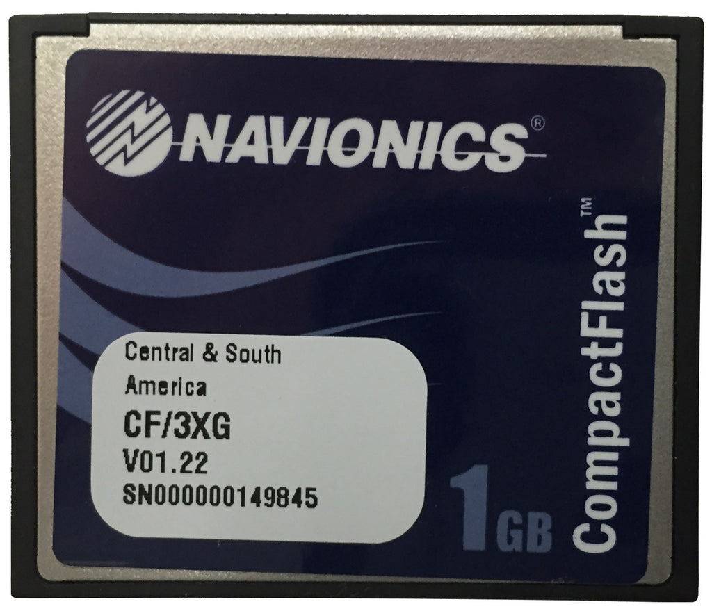[USED] Navionics Gold CF/3XG Central and South America v01.22 2010 sn 000000149845