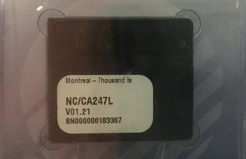 [USED] Navionics NAVchart Classic CA247L Montreal and Thousand Islands v01.21 (2009) sn 000000183387