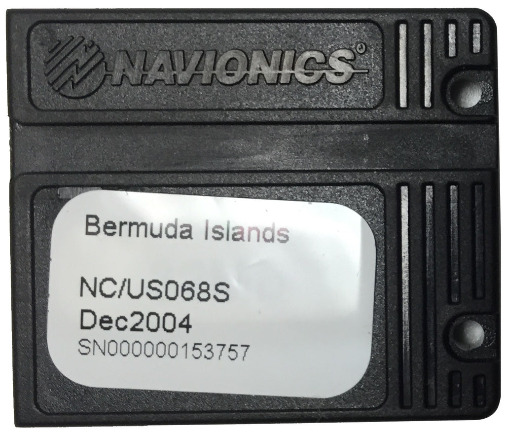 [USED] Navionics NAVchart Classic US068S Bermuda Islands Dec 2004 sn 000000153757