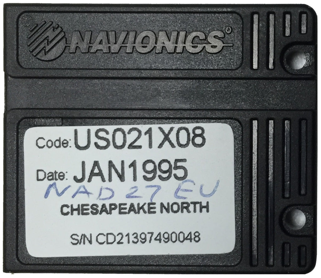 [USED] Navionics NAVchart Classic US021X08 North Chesapeake Jan 1995 sn CD21397490048