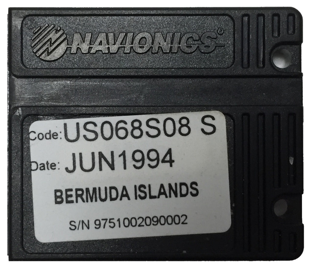 [USED] Navionics NAVchart Classic US068S08 Bermuda Islands Jun 1994 sn 975100209002