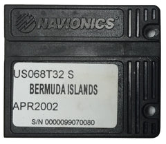 [USED] Navionics NAVchart Classic US068T32 Bermuda Islands Apr 2002 sn 0000099070080