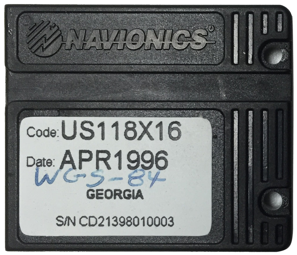 [USED] Navionics NAVchart Classic US118X16 Georgia Apr 1996 sn CD21398010003
