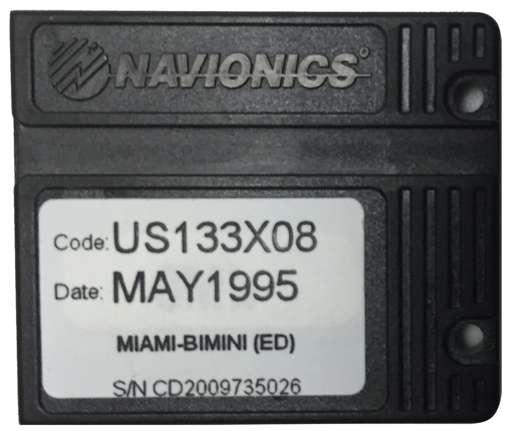 [USED] Navionics NAVchart Classic US133X08 Miami to Bimini May 1995 sn CD2009735026