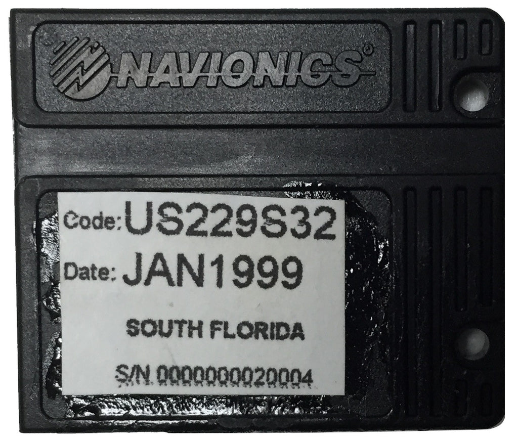 [USED] Navionics NAVchart Classic US229S32 South Florida Jan 1999  sn 0000000020004