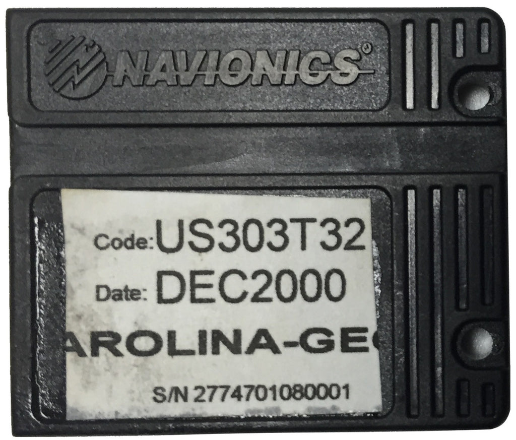 [USED] Navionics NAVchart Classic US303T32 Carolina to Georgia Dec 2000 sn 2774701080001