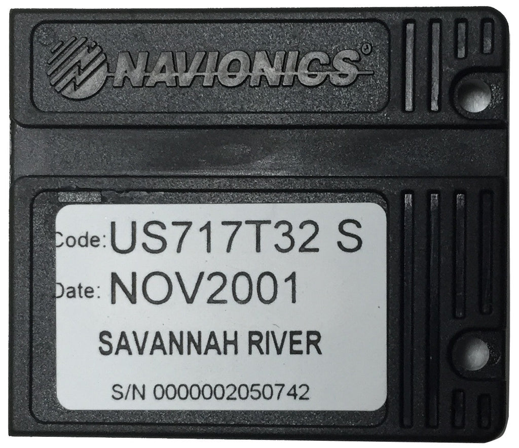 [USED] Navionics NAVchart Classic US717T32 Savannah River Nov 2001 sn 0000002050742