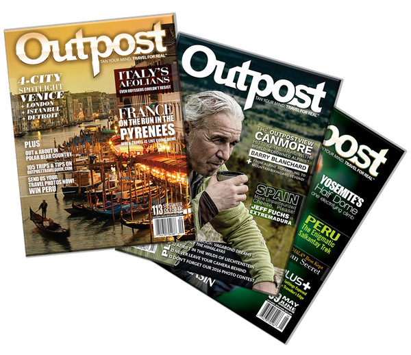 Order Back Issues of Outpost Magazine