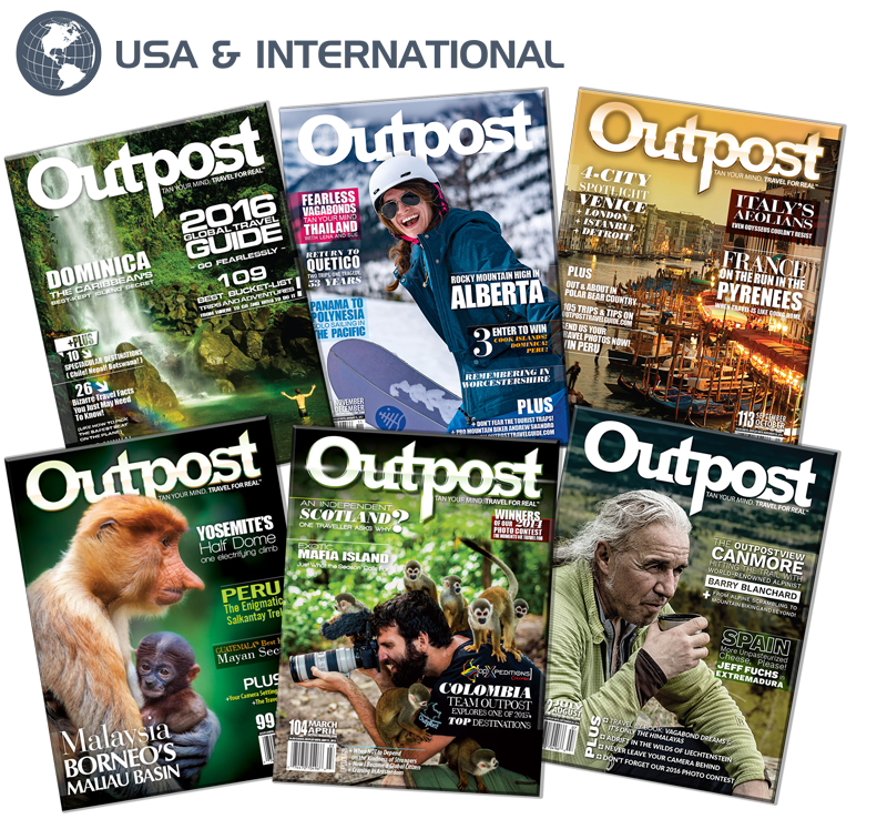 1 Year New US/International Subscription to Outpost Magazine - The Outpost Shop