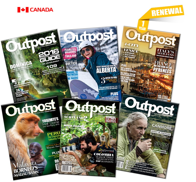 1 Year Renewal Subscription to Outpost Magazine - The Outpost Shop