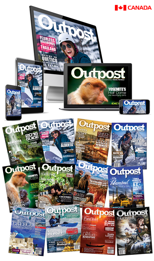 2 Year New Print + Digital Subscription to Outpost Magazine - The Outpost Shop