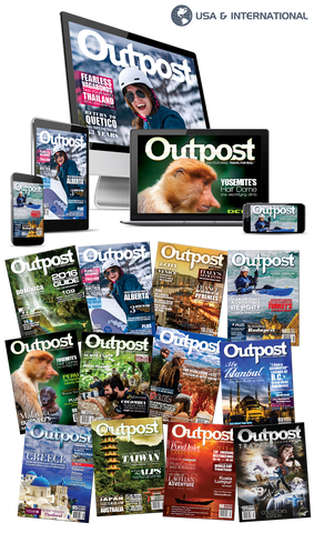 2 Year New US/International Print + Digital Subscription to Outpost Magazine - The Outpost Shop