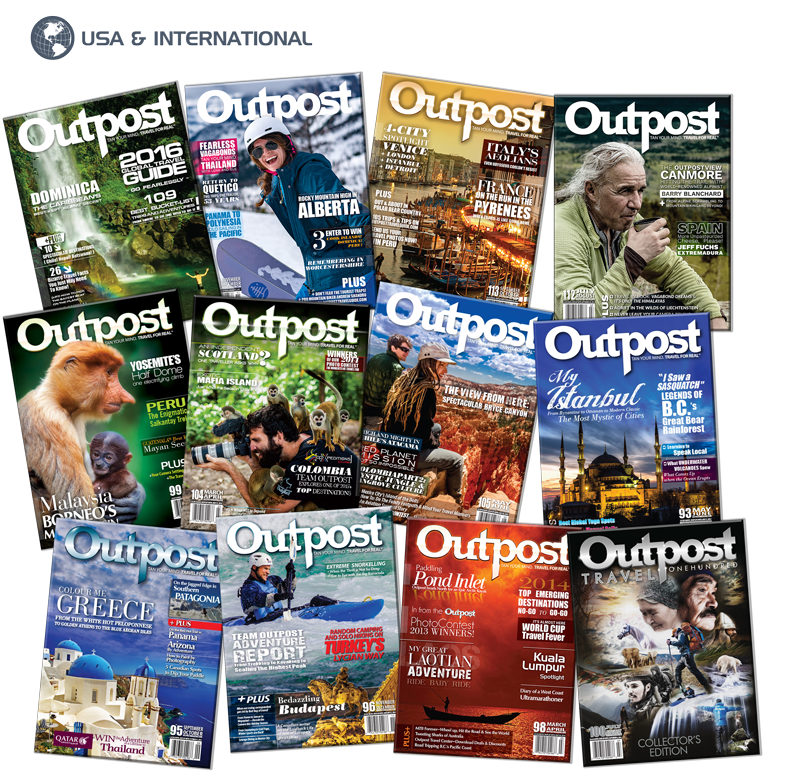 2 Year New US/International Subscription to Outpost Magazine - The Outpost Shop