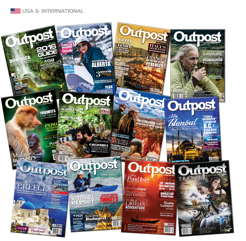2 Year New Subscription to Outpost Magazine - The Outpost Shop