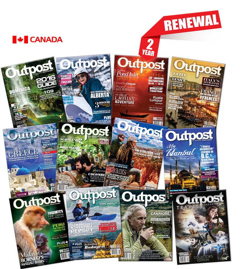 2 Year Renewal Subscription to Outpost Magazine - The Outpost Shop