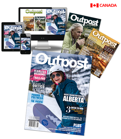 1 Year New Print + Digital Subscription to Outpost Magazine - The Outpost Shop