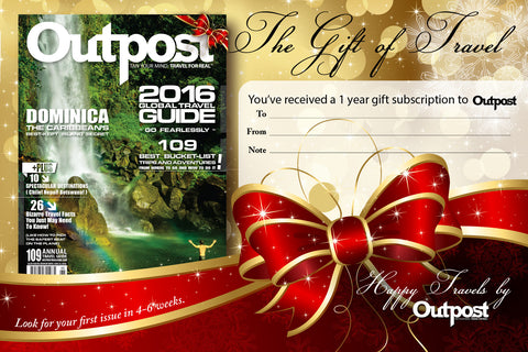 1-Year Gift Subscription - The Outpost Shop