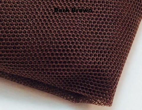 100/1 - Swiss Terylene Toupee Net - Half Metre - Dark Brown is Out of Stock