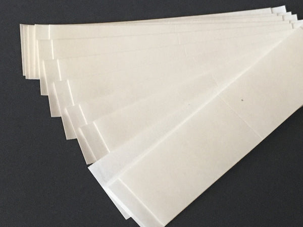 474 - Walkers No 1522 Clear Tape Straight Strips - Hypoallergenic - 36 Pieces