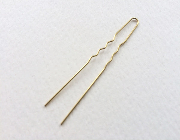 The Wig Department - Strong Gold Hair pin