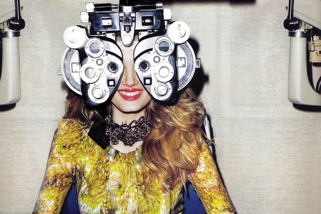 Fashionable Eye Exam
