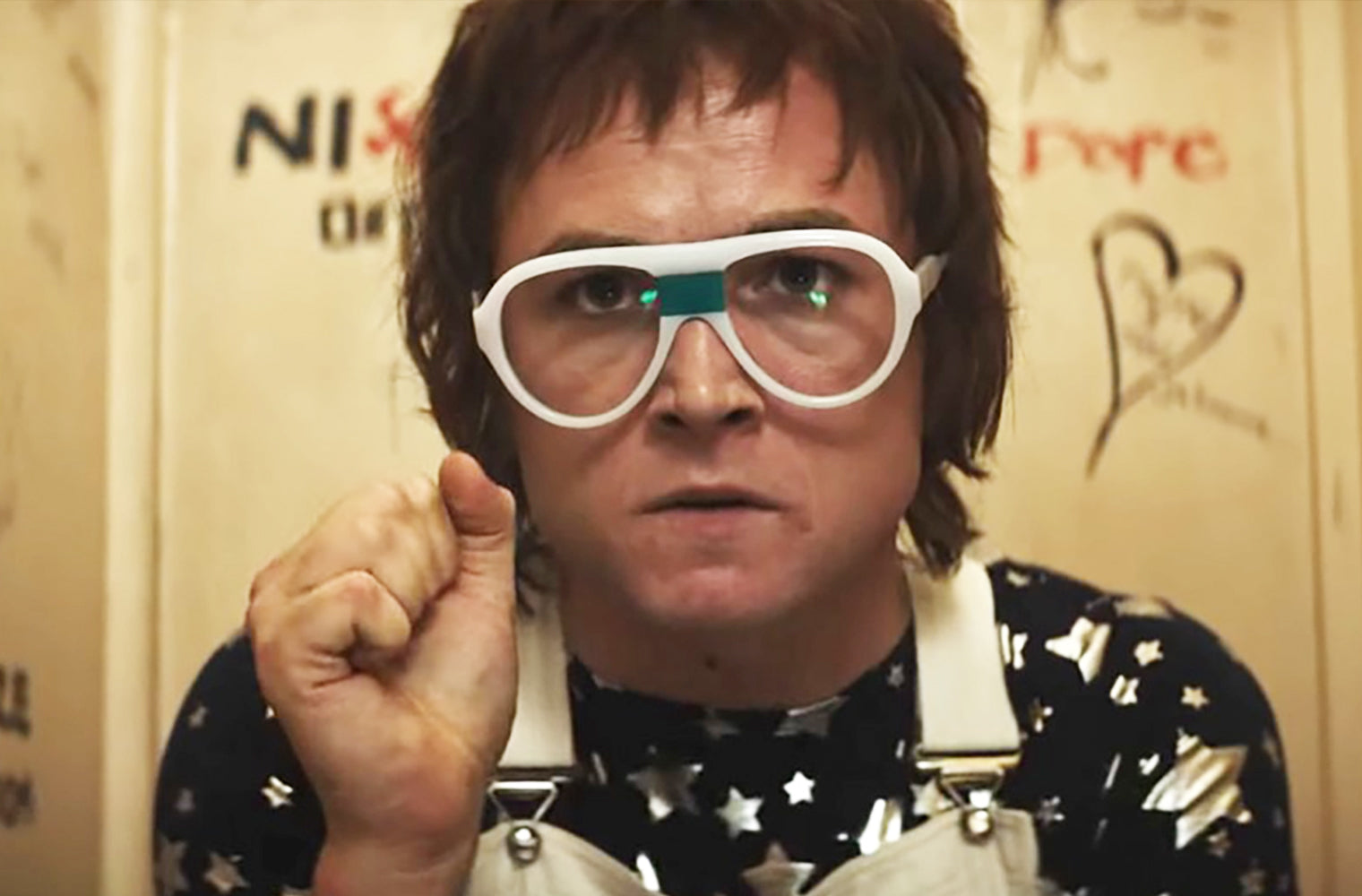 Rocket Man Movie White Glasses