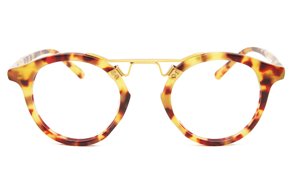 KREWE ST.LOUIS OPTICAL MATTE TORTOISE