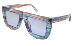 Calavera Frame Land of Plenty Sun Blue Multi Colour