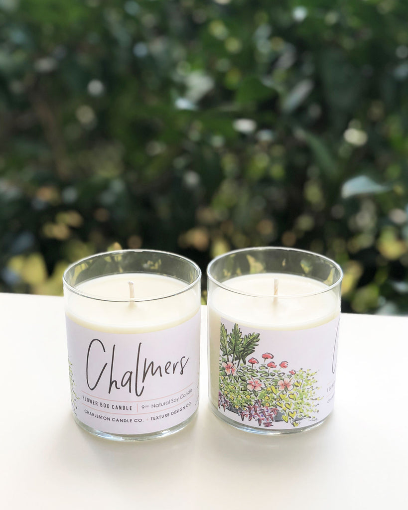Chalmers Flower Box Candle