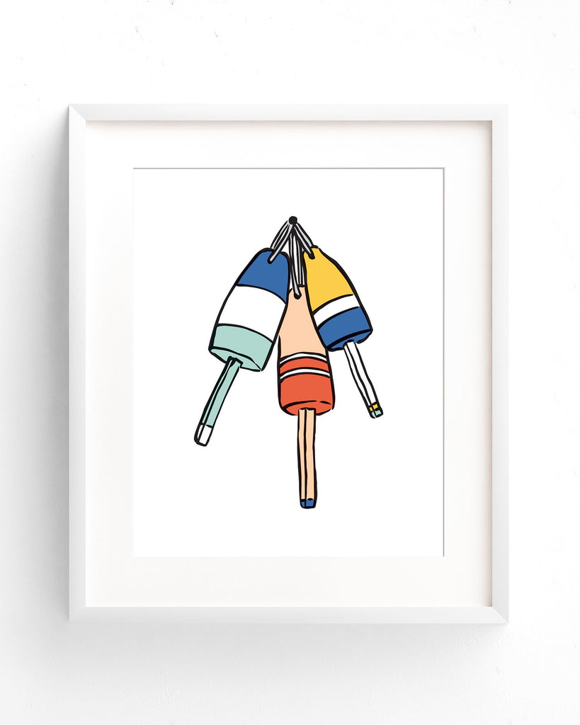 Coastal Breeze - Buoy 2 Print