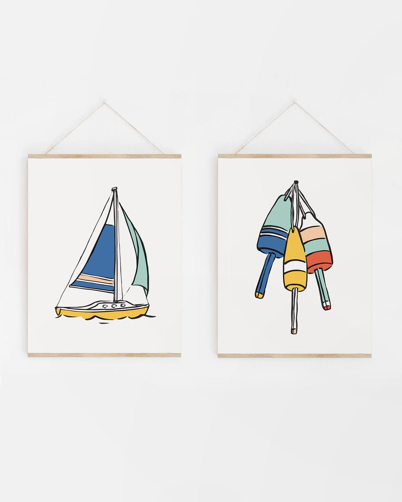 Nautical Nursery Art Prints
