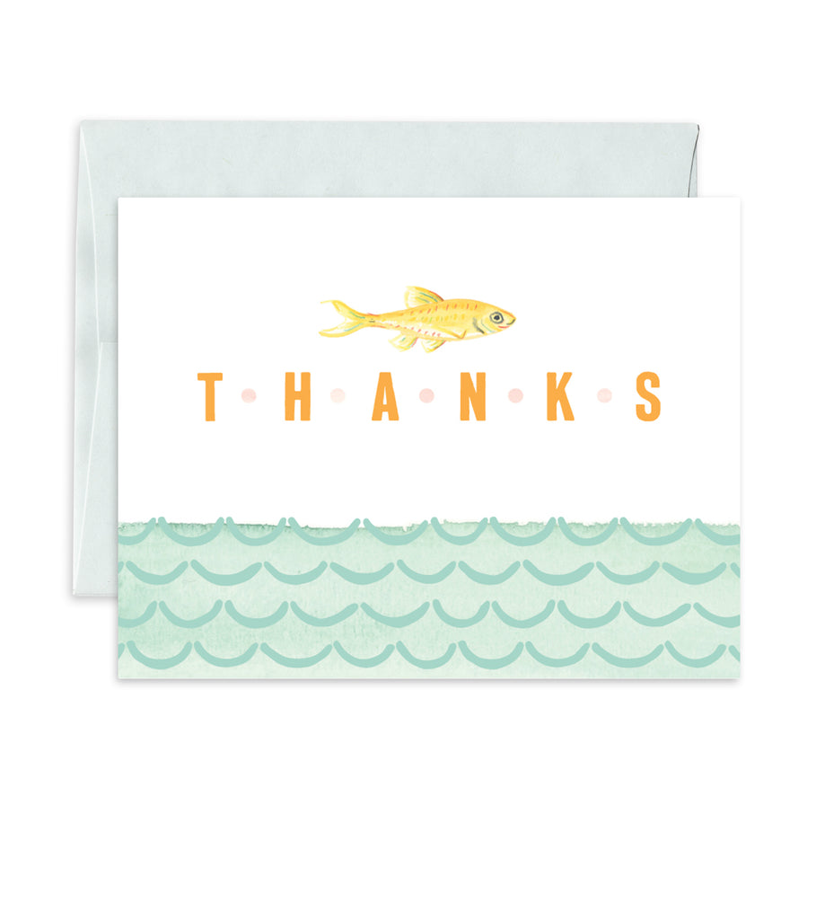 Greeting Card - Thanks Fishy