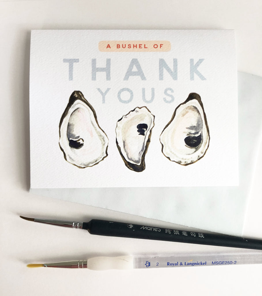 Greeting Card - Bushel of Thank Yous