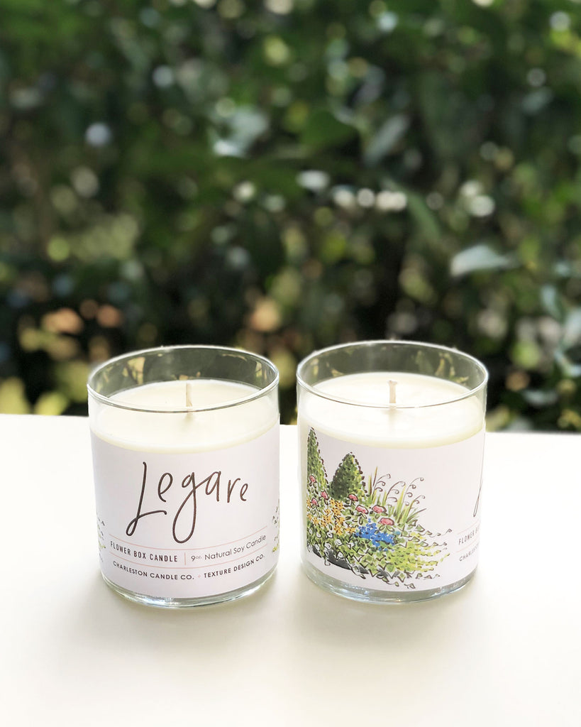 Legare Flower Box Candle