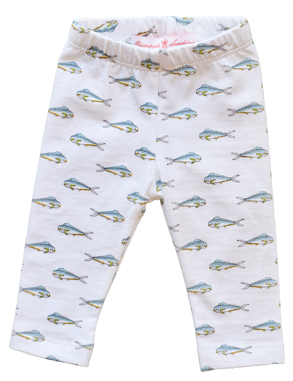 Mahi Mahi Leggings - Pineapple Sunshine™