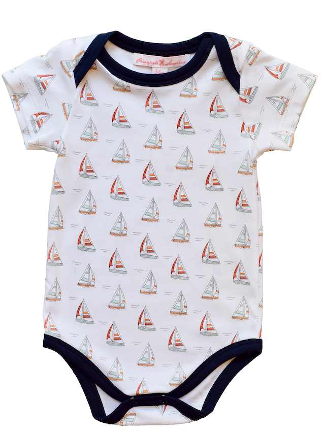 Sailboat Onesie - Pineapple Sunshine™