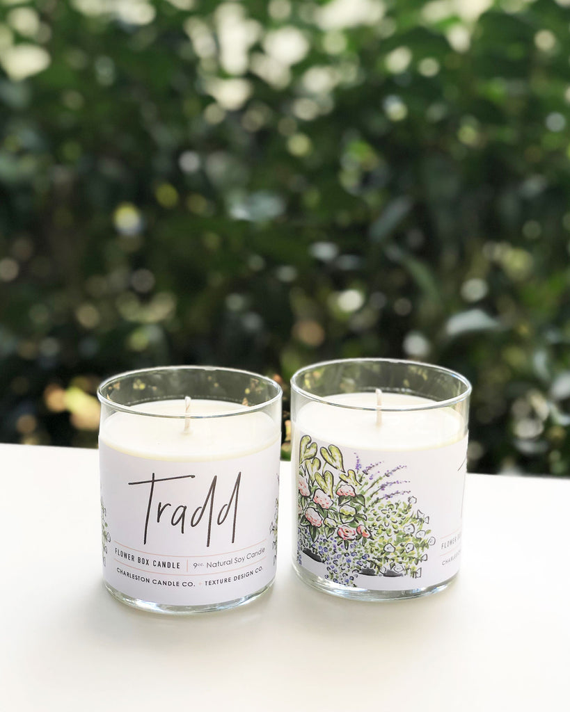 Tradd Flower Box Candle