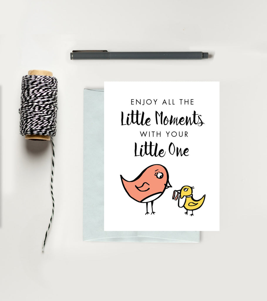 Greeting Card - Baby - Little Moments