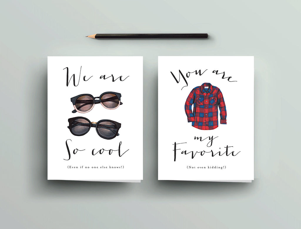 Greeting Card - Apparel - We Are So Cool