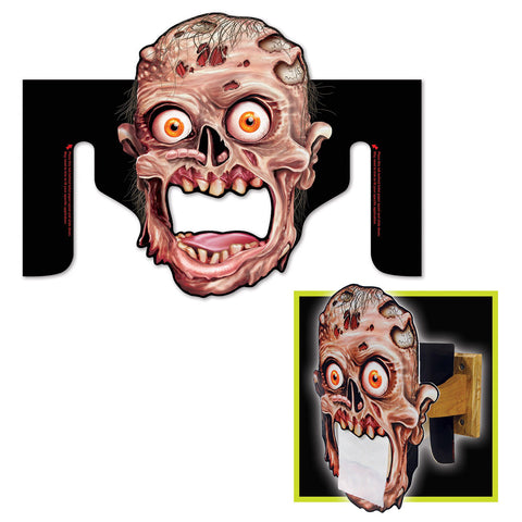 "Zombie Toilet Paper Dispenser, Size 10½"" x 14"""