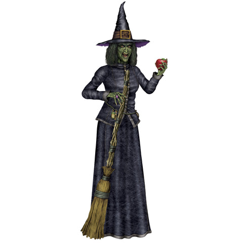 Jointed Witch, Size 6'