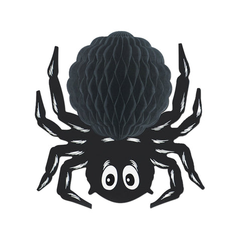 Black Tissue Spider, Size 14""