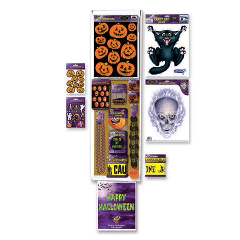 Halloween Floor Display - 85 Pcs