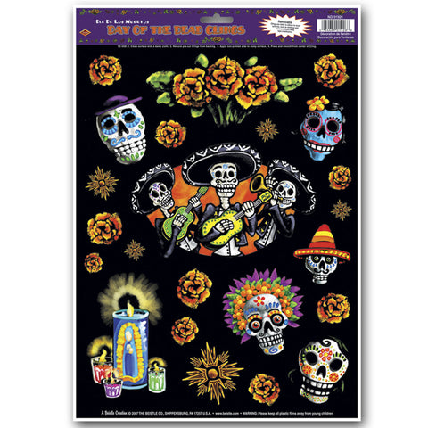 "Day Of The Dead Adherivos, Size 12"" x 17"" Sh"