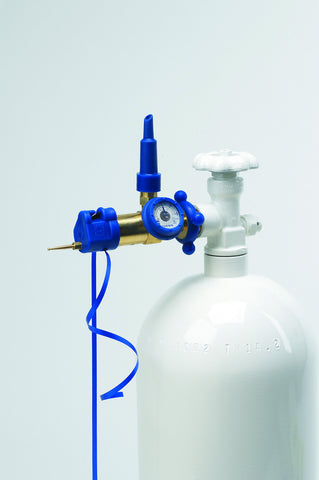 VERTICAL FLEX-TILT VALVE W/GAUGE & HOOK
