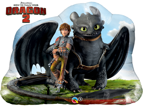 "33"" Hiccup & Toothless, How To Train Your Dragon 2"