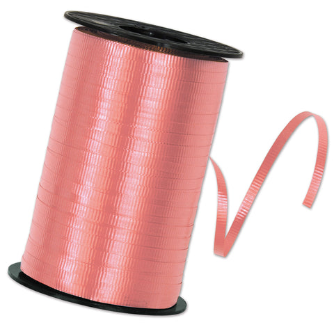 "Pink Curling Ribbon, Size 3/16"" x 500 yards"