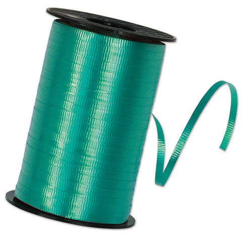 "Teal Curling Ribbon, Size 3/16"" x 500 yards"