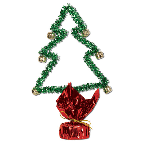 Christmas Tree Gleam 'N Shape w/Bells, Size 11""